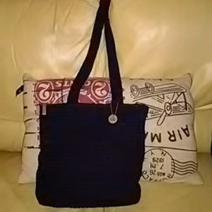 BIG Blue and Beautiful The Sak Shoulder Bag